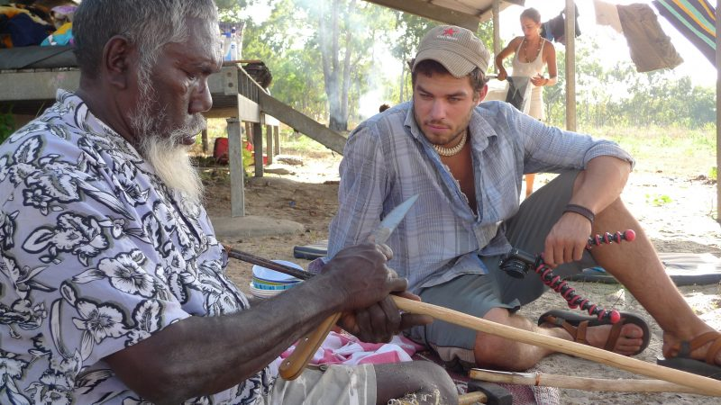 Didgeridoo Craft Apprenticeship with Djalu Gurruwiwi and Family